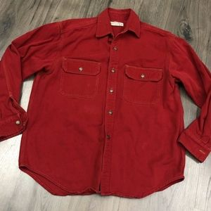 Vintage Banana Republic Red Denim Shirt